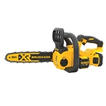 DeWalt DCCS620P1 20V MAX XR Compact 12 in. Cordless Chainsaw 5 Ah Kit