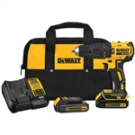 DeWalt DCD778C2 20V MAX Compact Brushless 1/2 in. Hammer Drill/Driver Kit