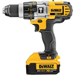 DCD985M2-MAX Lithium Ion Premium 3-Speed Hammerdrill Kit by Dewalt