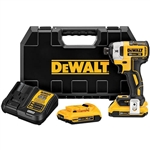 DeWalt DCF887D2 20V MAX XR 1/4 in. 3 Speed Impact Driver Kit 2.0 Ah
