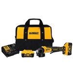 DeWalt DCG413R2 4-1/2 in. 20V MAX XR Paddle Switch Small Angle Grinder Kit with Kickback Brake