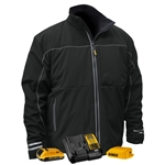 DeWalt DCHJ072D1 Lightweight Heated Soft Shell Work Jacket Kit