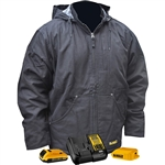 DeWalt DCHJ076ABD1 Heavy Duty Heated Work Jacket Kit