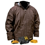 DeWalt DCHJ076ATD1 Heated Jacket Kit - Tobacco
