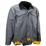 DeWalt DCHJ083CD1 Barn Coat Kit, Charcoal