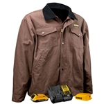 DeWalt DCHJ083TD1 Barn Coat Kit, Tobacco