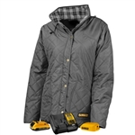 DeWalt DCHJ084CD1 Women's Flannel Lined Quilted Jacket Kit