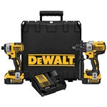 DeWalt DCK299P2 20V MAX XR Li-Ion Brushless Premium Hammerdrill and Impact Driver Combo Kit (5.0Ah)