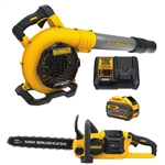DeWalt DCKO667X1 60V MAX Chainsaw/Blower Kit