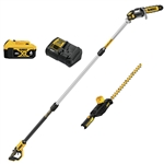 DeWalt DCKO86M1 20V MAX* Cordless Pole Saw and Pole Hedge Trimmer Combo Kit