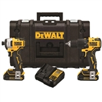 DeWalt DCKTS279C2 20V MAX Brushless Hammer Drill/Driver and Impact Driver Combo Kit