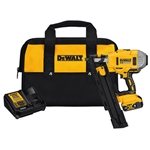 DeWalt DCN21PLM1 20V MAX 21 Degree Plastic Collated Cordless Framing Nailer Kit