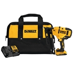 Dewalt DCN660D1 20V MAX 16ga Angled Cordless Finish Nailer Kit