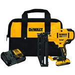 DeWalt DCN662B 20V MAX XR 16 Ga Cordless Straight Finish Nailer Kit