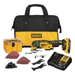 DeWalt DCS356D1 20V Max XR Brushless Cordless 3-Speed Oscillating Drill Kit