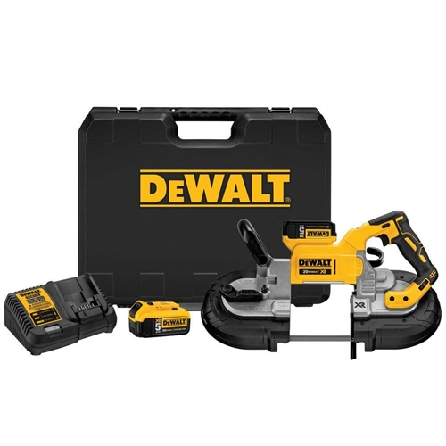 DeWalt DCS374P2 20V MAX XR Deep Cut Band Saw Kit
