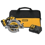 DeWalt DCS570P1 20V Max 7-1/4 in. Brushless XR Circular Saw Kit with 5.0 Ah Battery