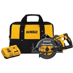 DeWalt DCS577X1 FLEXVOLT 60V MAX* 7-1/4 in. Cordless Worm Drive Style Saw 9.0 Ah Battery Kit