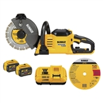 DeWalt DCS690X2 Flexvolt 60V MAX Cordless Brushless 9 in.Cut Off Saw Kit