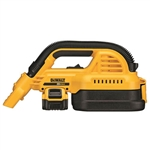 DeWalt DCV517M1 20V MAX 1/2 Gallon Wet/Dry Portable Vac Kit