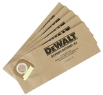 Dewalt DCV9401 Paper Bag For Dcv585/Dcv586 5 Pk