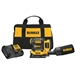 DeWalt DCW200D1 20V MAX XR Cordless 1/4 Sheet Variable Speed Sander Kit (2.0 Ah Battery)