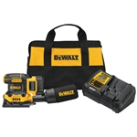 DeWalt DCW200P1 20V MAX XR Cordless 1/4 Sheet Variable Speed Sander Kit (5.0 Ah Battery)