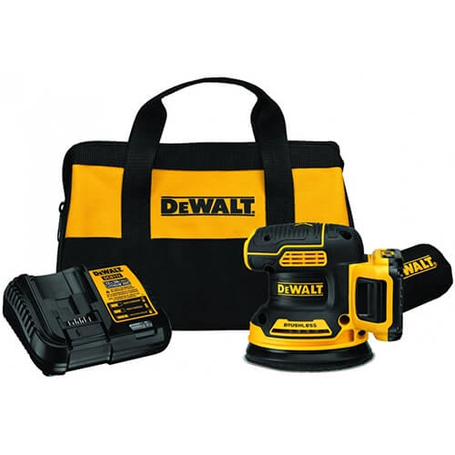 DeWalt DCW210D1 20V MAX XR 5 in. Cordless Random Orbital Sander Kit