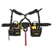 Dewalt DG5641 19-Pocket Framer's Combo Apron with Suspenders