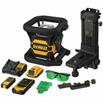 DeWalt DW080LGS 20V MAX Tool Connect Green Tough Rotary Laser