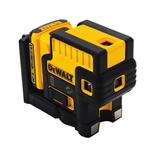Dewalt DW085LG Lithiumion 12-Volt 5-Spot Green Laser Level
