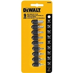 DW2068 9 pc Hex Insert Bit Set by Dewalt