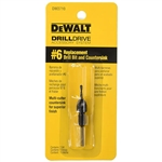 DeWalt DW2710 No. 6 Replacement Drill Bit and Countersink