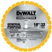 Dewalt Dw3106 10 60T Thin Kerf Miter/Table Saw Blade