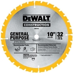 Dewalt Dw3112 10 24T Thin Kerf Table Saw Blade