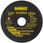 "Dewalt Dw4724  4"" High Performance Masonry Blade"