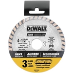 "Dewalt DW4725B3 4-1/2"" High Performance 3 Pk"