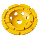 DeWalt DW4775 7 in. Double Row Diamond Cup Grinding Wheel