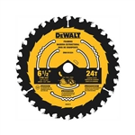 DeWalt DWA161224 6-1/2 in. Circular Saw Blade 24 Tooth
