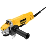 DWE4120N 4 1/2 inch Small Angle Grinder by Dewalt W/ No Lock-on