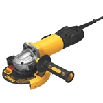 "Dewalt 4.921 6"" Paddle Switch Grinder (No Lock) - GRINDING-ANGLE (SAGS)"