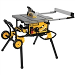 "DWE7491RS 10"" Jobsite Table Saw and Rolling Stand by Dewalt"