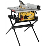 DeWalt DWE7491X 10 in. Table Saw with Scissor Stand