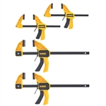 DeWalt DWHT83196 Medium and Large Trigger Clamps - 4 Pack