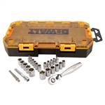 DWMT73805 25 Piece 1/4'' Drive Socket Set by Dewalt Tools