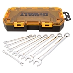 DWMT73809 8 Piece Combination Wrench Set (SAE) by Dewalt Tools
