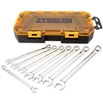 DWMT73810 8 Piece Metric Combination Wrench Set by Dewalt Tools