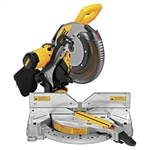 DeWalt DWS716XPS 15Amp 12 in. Compound Double Bevel Miter Saw IEC Compliant