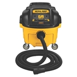 DeWalt DWV010 8 Gallon Wet Dry HEPA Dust Extractor