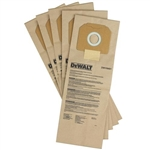 Dewalt DWV9401 Paper Dust Bag 5 Pack
